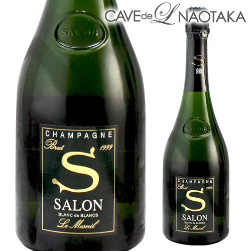 <P10対象外>サロン ブラン ド ブラン[1999]750ml[限定品][シャンパン][シャンパーニュ]
