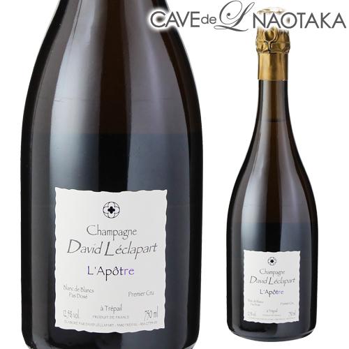 【P10倍】ダヴィッド レクラパールラポトル プルミエクリュ 750ml[シャンパン][シャンパーニュ][自然派ワイン][ヴァン ナチュール][ビオ ディナミ]3/20~/30まで