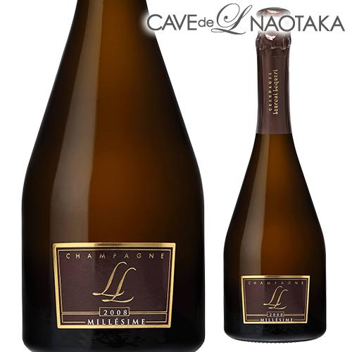 【P10倍】ローラン ルカール ミレジム [2008] ブリュット750ml [シャンパン][シャンパーニュ]3/20~/30まで
