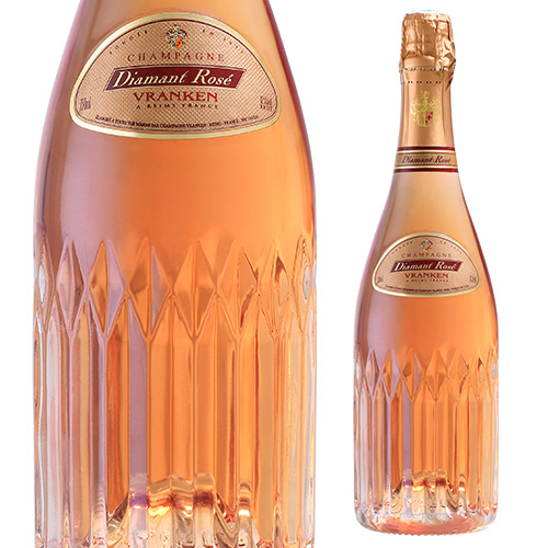 ディアマン ロゼ ブリュット NV 750ml [正規品][シャンパン][シャンパーニュ][ヴランケンポメリー]