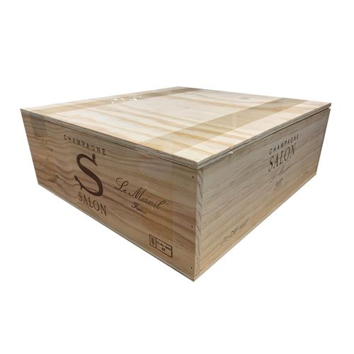 インテリアやガーデニングなどに便利 送料無料 ワイン木箱 1箱 サロン SALON.3 蓋あり 仕切りなし 種類選択不可 P7対象外 平箱 他商品同梱不可 D.I.Y. バースデー 記念日 ギフト 贈物 お勧め 通販 虎 DIY 超安い 包装不可