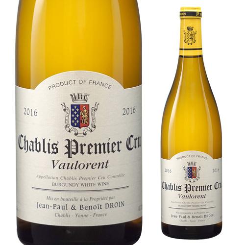 シャブリプルミエ クリュ ヴォーロラン 2016 ジャンポール エ ブノワ ドロワン 750ml ブルゴーニュ 白ワイン 1級