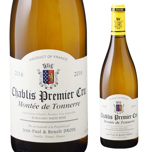 シャブリプルミエ クリュ モンテ ド トネール 2016ジャンポール エ ブノワ ドロワン 750ml ブルゴーニュ 白ワイン 1級