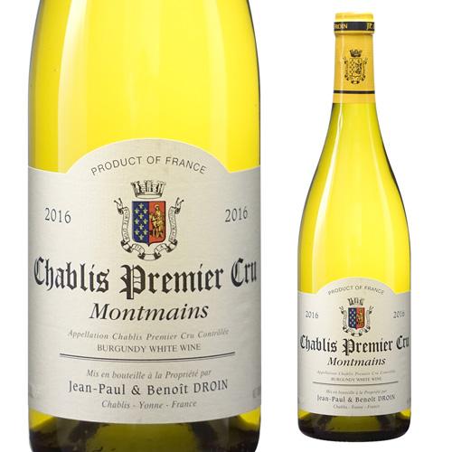 シャブリプルミエ クリュ モンマン 2016 ジャンポール エ ブノワ ドロワン 750ml ブルゴーニュ 白ワイン 1級