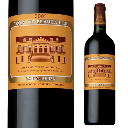 シャトー ラ クロワ ド ボ-カイユ 2005 750ml フランス ボルドー 赤ワイン 格付2級 セカンド