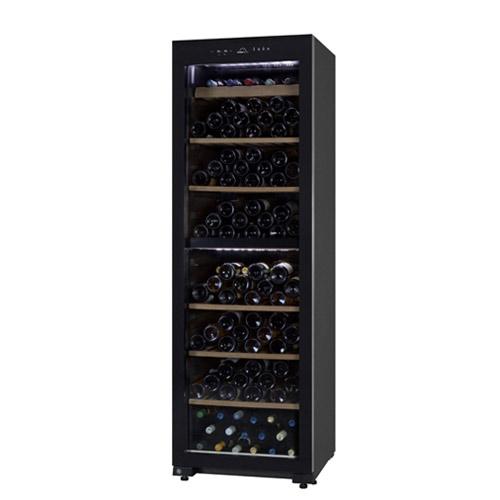 【通販激安】 送料・設置料無料フォルスター DUAL デュアル FJN-360G(BK)カラー:ブラック 160本ワインセラー 家庭用 N/B, カクタスコガ 6a5b720c