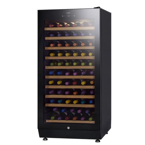 ファニエルプレミアムクラス『SAF-190G BB』送料+設置料無料 さくら製作所本体カラー:ビューティブラック 65本 FURNIEL 家庭用のワインセラー