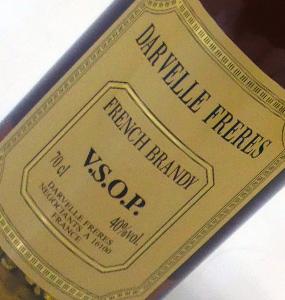 ブランデー フランス ダーヴェル V.S.O.P VSOP フレンチ 700ml DARVELLE 限定品 ブランド激安セール会場
