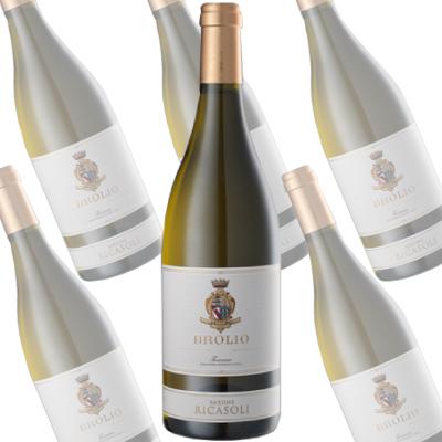 ブローリオ・ビアンコ/バローネ・リカーゾリ 750ml×6本 (白ワイン)
