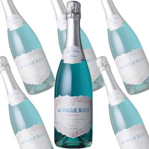 【まとめ買い】ラ・ヴァーグ・ブルー スパークリング キュヴェ・スイート/エルヴェ・ケルラン (スパークリングワイン)750ml×6本