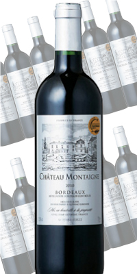 シャトー・モンテーニュ 750ml×12本 (赤ワイン)