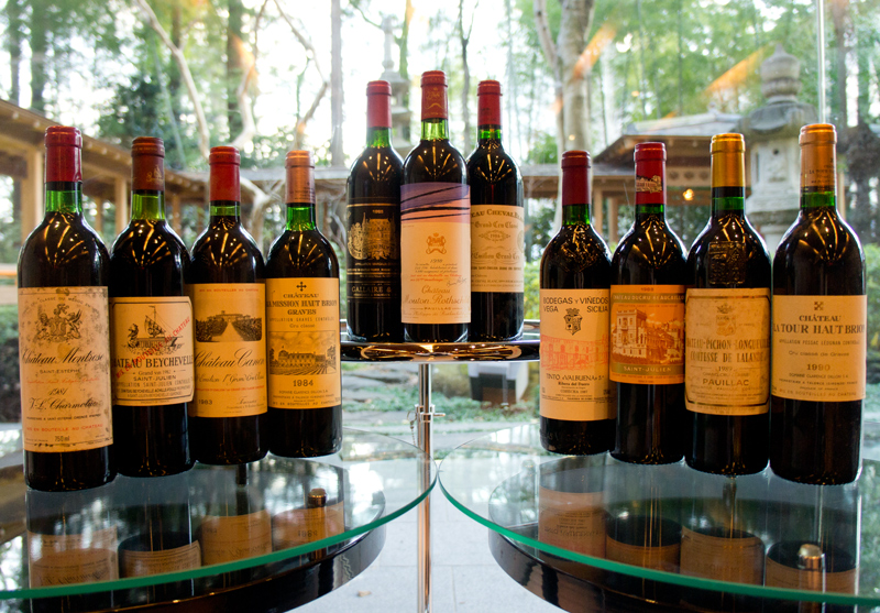 1980年から1990年 ヴィンテージワイン11本セット【限定品】