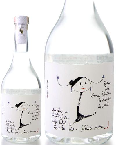 グラッパ リゼルヴァ ビアンカ ロマーノ レヴィ (2016~2018年木樽熟成)700ml 45%(蒸留酒) [tp]
