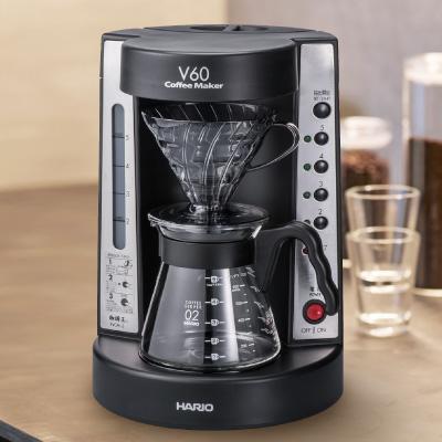 ハリオ(HARIO)V60珈琲王 コーヒーメーカー ブラック(EVCM-5TB) (同梱不可)[S]