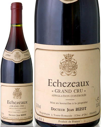 エシェゾー[1986]ドクトゥール ジャン ビゾ(赤ワイン)[tp][S]