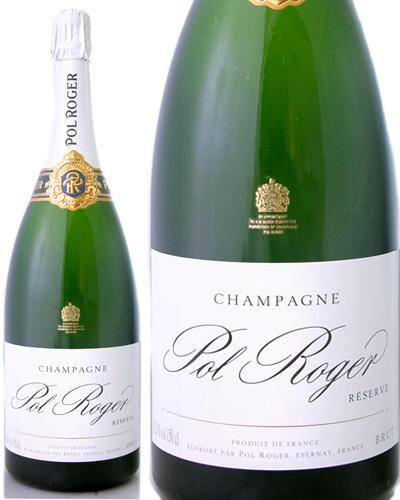 マグナムボトル ブリュット レゼルヴNV ポル ロジェ1500ml ( 泡 白 ) シャンパン シャンパーニュ  (ワイン(=750ml)4本と同梱可)