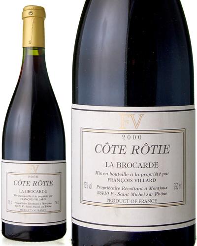 コート ロティ ラ ブロカール [2000] フランソワ ヴィラール ( 赤ワイン ) [tp] [S]