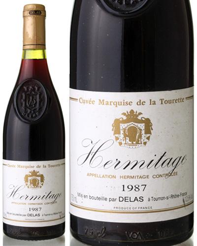 エルミタージュ マルキ ド ラ トゥーレット [1987] ドゥラス ( 赤ワイン ) ※ラベル瓶&キャップに汚れ 破れ 傷有り※ [S]