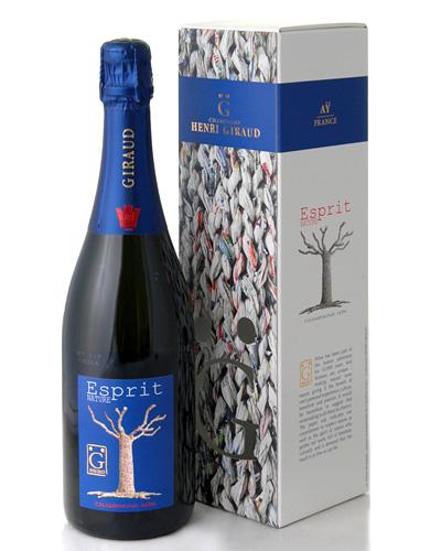 正規 箱入り エスプリ ナチュール NV アンリ ジロー ( 泡 白 ) シャンパン シャンパーニュ  (ワイン(=750ml)10本と同梱可)