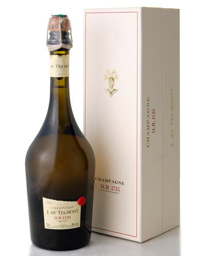 箱入り ブリュットOR1735 [2004] J.ド テルモン(ワイン(=750ml)4本と同梱可)(泡 白) [tp][S]
