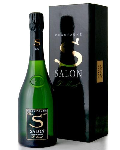 正規 箱入り サロン ブラン ド ブラン [2007]  ( 泡 白 ) シャンパン シャンパーニュ (ワイン(=750ml)8本と同梱可) [tp] [S]