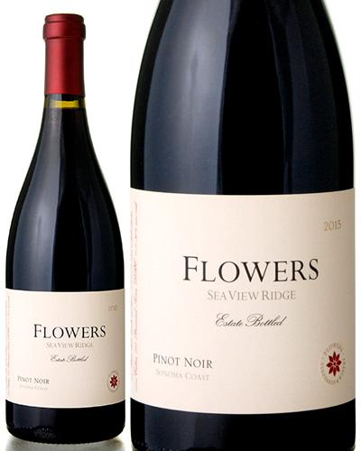 フラワーズ ピノ ノワール シー ヴュー リッジ [ 2015 ] ( 赤ワイン ) [S]