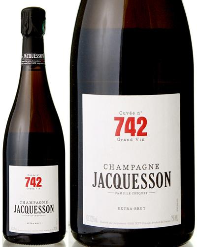 並行 シャンパーニュ キュベ 742 エクストラ ブリュットNVジャクソン ( 泡 白 ) シャンパン シャンパーニュ [S]