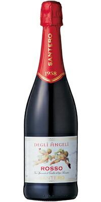 【送料無料】【ワイン12本セット】【福袋】天使のロッソ 【泡】【750ml】【sale】スパークリングワイン甘口 スパークリングワイン イタリアワイン 業務用 ケース売り まとめ買い
