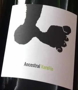 アンセストラル チャレッロ 2017 カル ティカス 希少 スペインワイン 本日の目玉 スパークリング 泡白