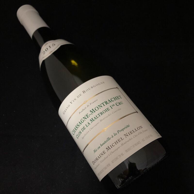 2015 シャサーニュモンラッシェ 1er マルトロワ 生産者 ミッシェル ニーロン【白ワイン】【ブルゴーニュ】