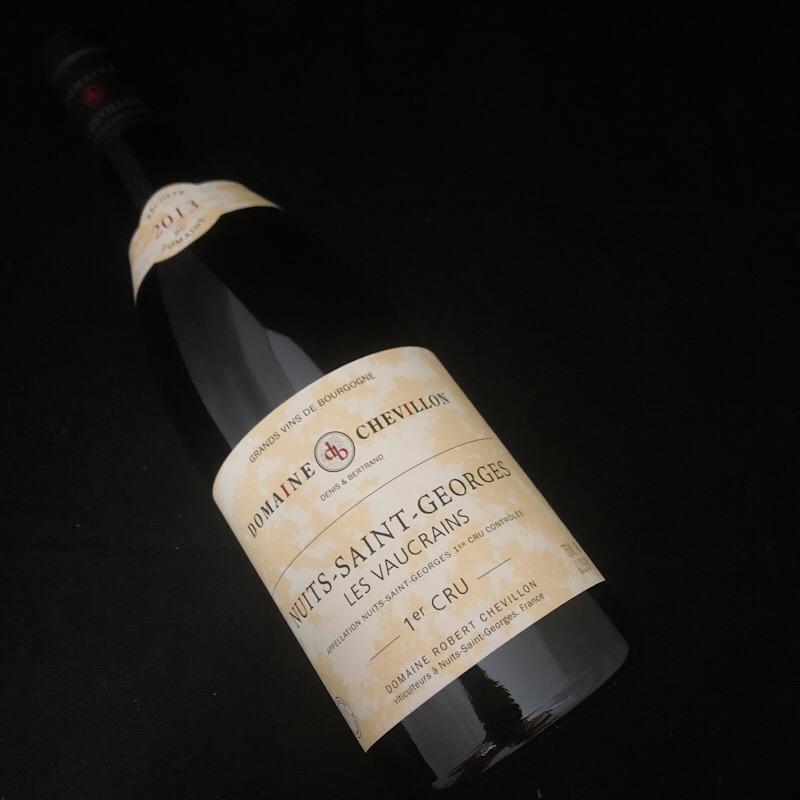 2013 ニュイサンジョルジュ 1er ヴォークラン 生産者 ロベール シュヴィヨン【赤ワイン】