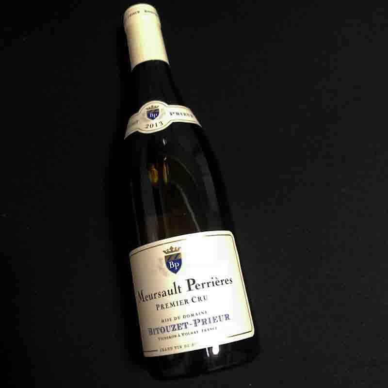 13 ムルソー1er ペリエール 生産者 ビテューゼ プリウール【白ワイン】【ブルゴーニュ】【ギフト 贈答用】【プレゼント対応可】