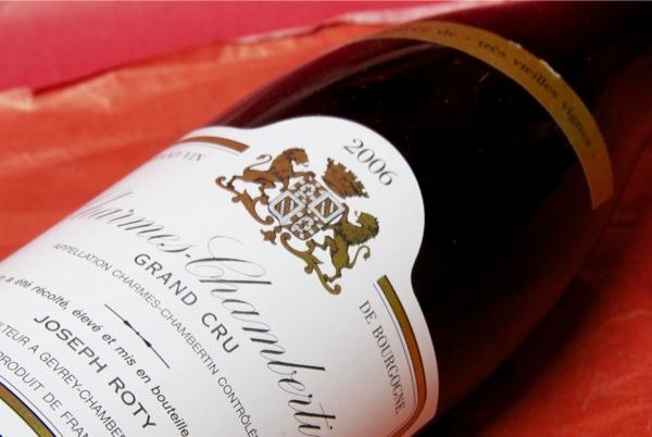 ジョセフ・ロティー / シャルム・シャンベルタン・ヴィエイユ・ヴィーニュ 2006【グルメ201212_ビール・洋酒】