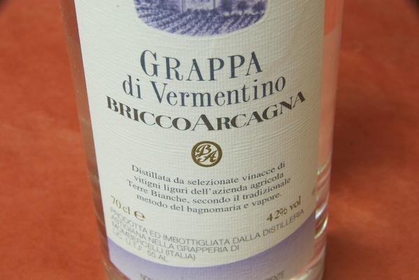 ブリッコ・アルカーニャ / グラッパ・ディ・ヴィルメンティーノ【グルメ201212_ビール・洋酒】