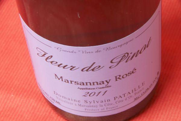 Domaine Sylvain pataille/marsannay rose Fleur-de-Pinot [2011]