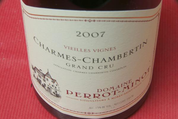 Christoph Pero Minho / Sharm Chambertin vieilles Vignes [2007]