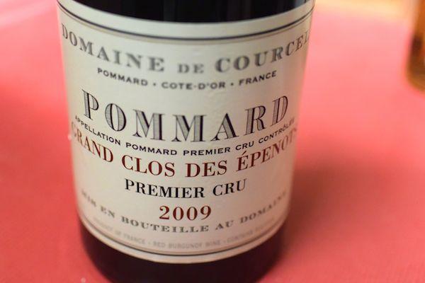 ドメーヌ・ド・クールセル / ポマール・プルミエ・クリュ・グラン・クロ・デ・ゼプノ [2009]【赤ワイン】
