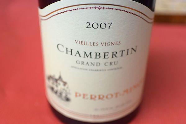 クリストフ・ペロ・ミノ / シャンベルタン・ヴィエイユ・ヴィーニュ [2007]【赤ワイン】