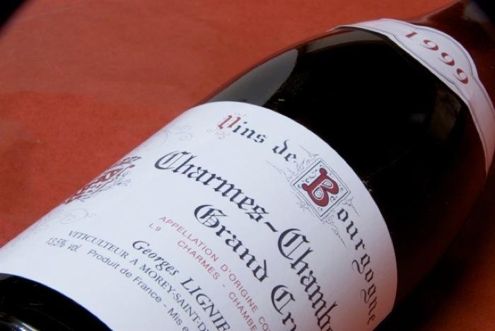 ジョルジュ・リニエ / シャルム・シャンベルタン [1999]【グルメ201212_ビール・洋酒】