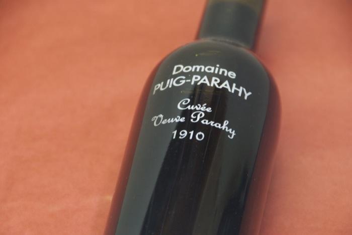 ドメーヌ・ピュイグ・パライ / リヴザルト・キュヴェ・ヴーヴ・パライ375ml(デュミ / ハーフ・ボトル) [1910]【smtb-t】【グルメ201212_ビール・洋酒】