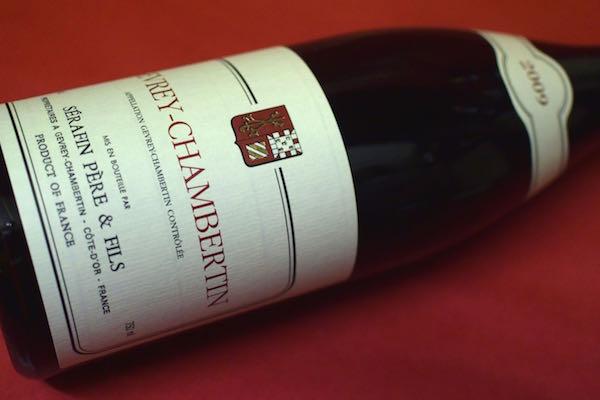 セラファン・ペール・エ・フィス / ジュヴレ・シャンベルタン [2009]【赤ワイン】