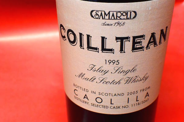 カリーラ / サマロリー・コイルティーン 1995y 45%【モルト・ウイスキー】