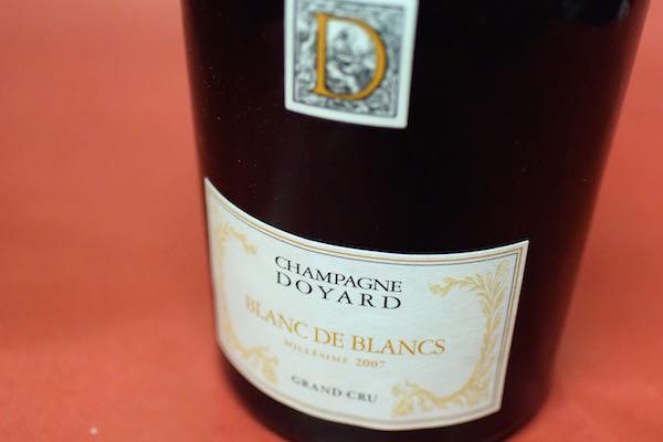 ドワイヤール / エキストラ・ブリュット・ブラン・ド・ブラン・グラン・クリュ・ブリュット [2007]【シャンパン(泡物)】