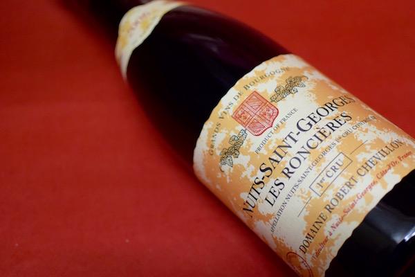 ロベール・シュヴィヨン / ニュイ・サン・ジョルジュ・プルミエ・クリュ・レ・ロンシェール [2006]【赤ワイン】