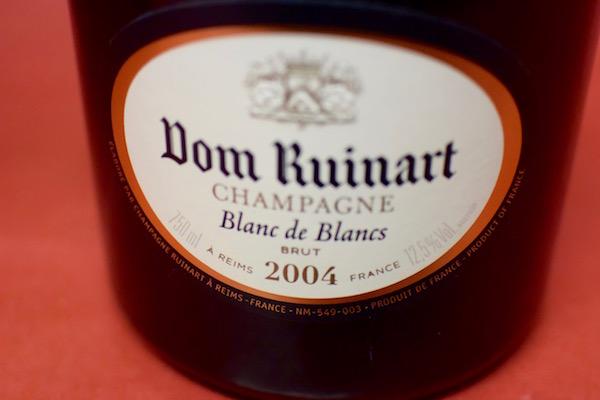 ドン・リュイナール / ブラン・ド・ブラン・ブリュット [2004]【シャンパン(泡物)】