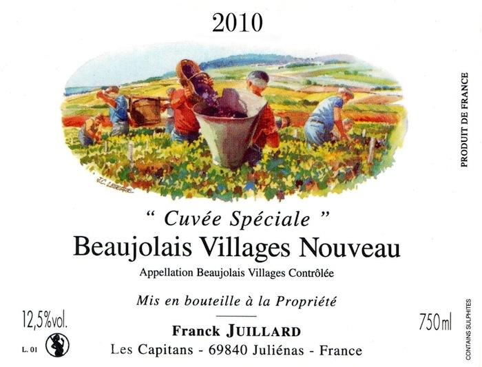 Frank Jouy yard / Beaujolais nouveau [2014] 6,000 ml bottle selling by subscription (selling by subscription: as for the notice 2014/11/20)