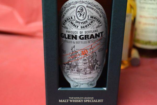 Glen Grant 40 years 40% Gordon & マクファイル