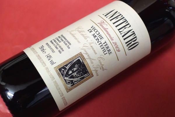 ヴェッキ・テッレ・ディ・モンテフィーリ/ アンフィテアトロ [2009]【赤ワイン】