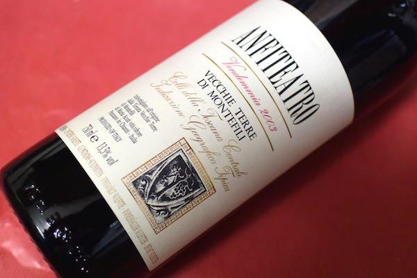 ヴェッキ・テッレ・ディ・モンテフィーリ/ アンフィテアトロ [2003]【赤ワイン】