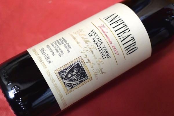 ヴェッキ・テッレ・ディ・モンテフィーリ/ アンフィテアトロ [2007]【赤ワイン】